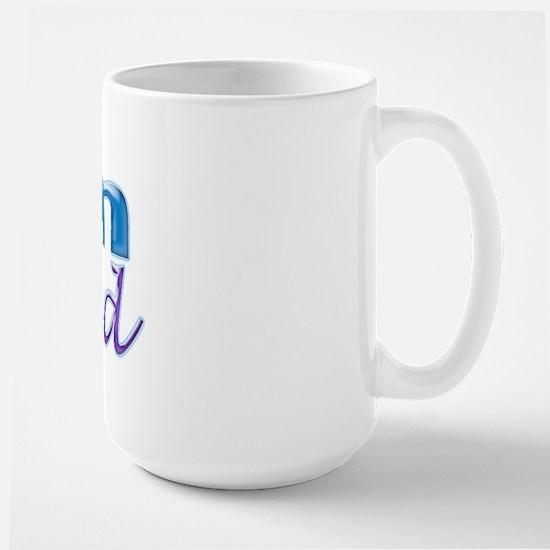 I Am Blessed Large Mug