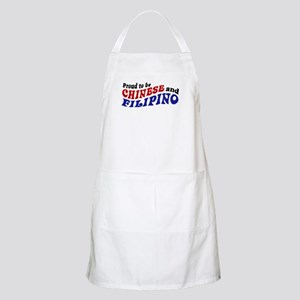 Proud to be Chinese and Filipino BBQ Apron