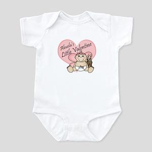 Abuela's Little Valentine GIR Infant Bodysuit