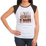 3 DEUCE Women's Cap Sleeve T-Shirt