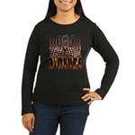 3 DEUCE Women's Long Sleeve Dark T-Shirt