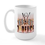3 DEUCE Large Mug