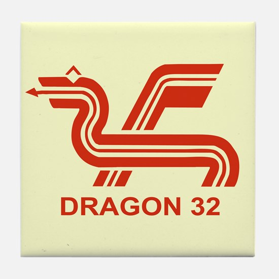 Dragon 32 Tile Coaster