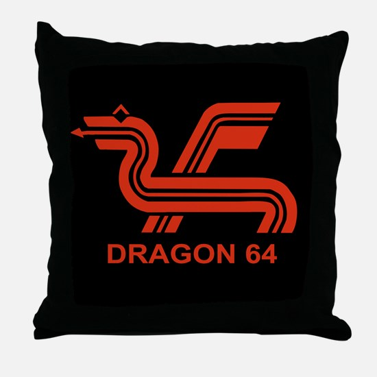 Dragon 64 Throw Pillow