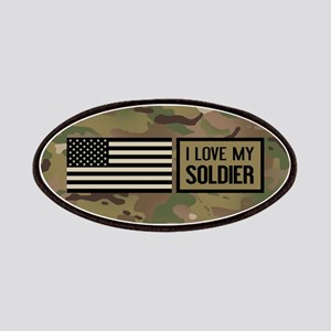 U.S. Army: I Love My Soldier (Camo) Patch