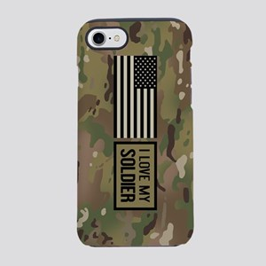 U.S. Army: I Love My Soldier iPhone 8/7 Tough Case