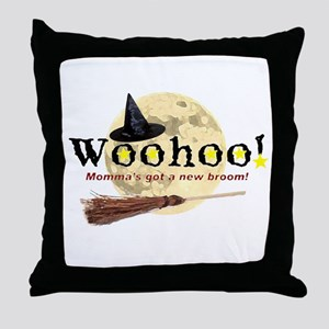 New Broom Throw Pillow