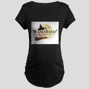 New Broom Maternity Dark T-Shirt