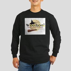 New Broom Long Sleeve Dark T-Shirt