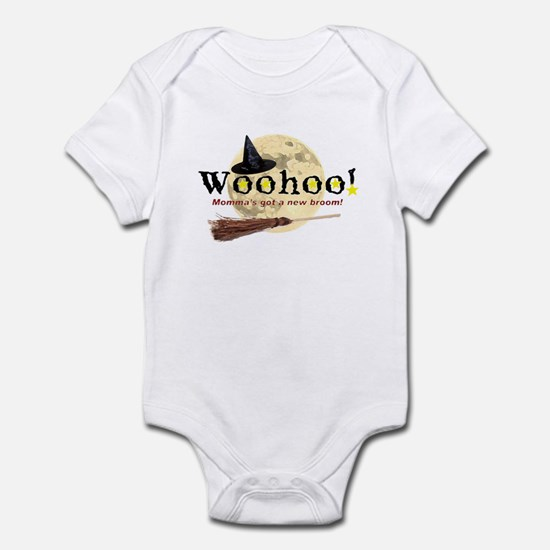 New Broom Infant Bodysuit