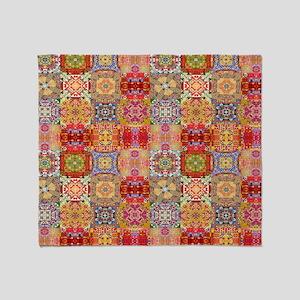 Special Patchwork Quilt Throw Blanket