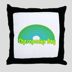 Chesapeake Bay Throw Pillow