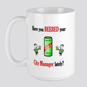 City Manager Large Mug