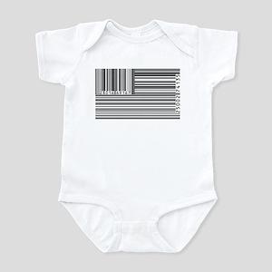 Barcode Flag Infant Bodysuit