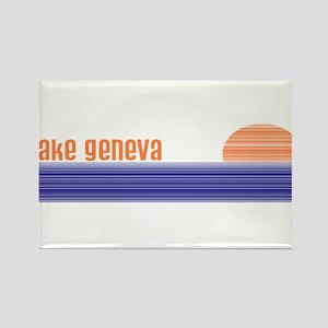 Lake Geneva Rectangle Magnet