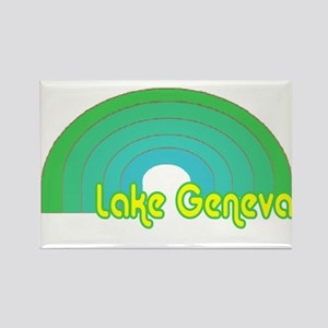 Lake Geneva Rectangle Magnet (10 pack)