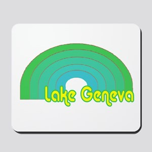 Lake Geneva Mousepad