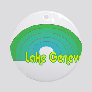 Lake Geneva Ornament (Round)