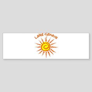 Lake Geneva Bumper Sticker