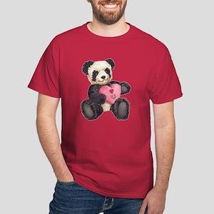 I Heart U Panda Dark T-Shirt