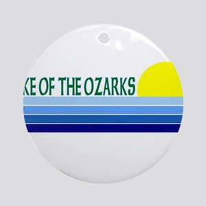 Lake of the Ozarks Ornament (Round)