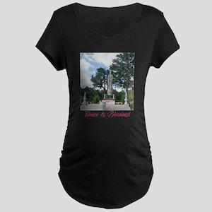 Peace Blessings Maternity T-Shirt