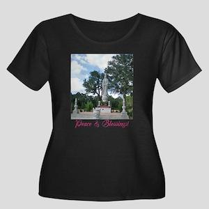 Peace Blessings Plus Size T-Shirt