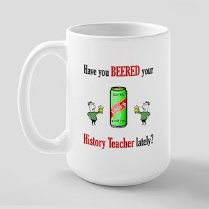 History Teacher Large Mug