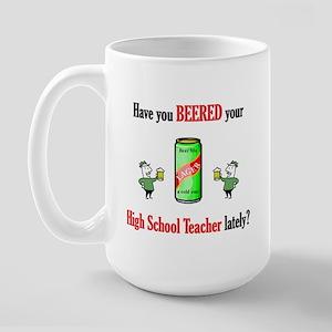 High School Teacher Large Mug