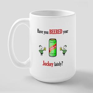 Jockey Large Mug