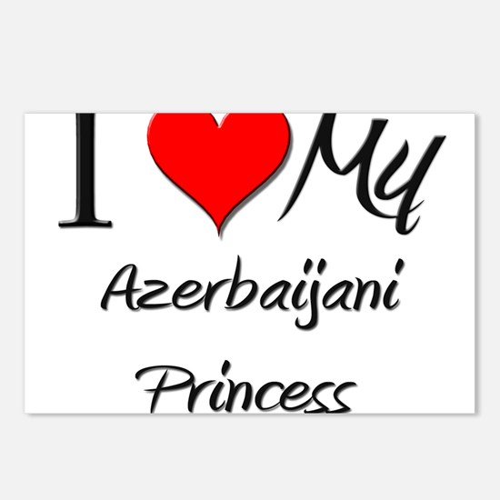 I Love My Azerbaijani Princess Postcards (Package