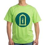A&S Officer Green T-Shirt