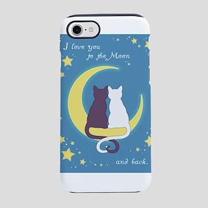 Moon Cats iPhone 8/7 Tough Case