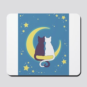 Moon Cats Mousepad
