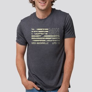 USS Nashville Women's Dark T-Shirt