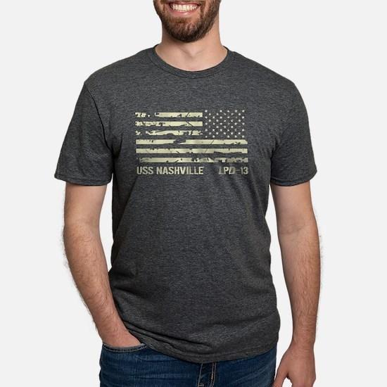 USS Nashville Women's Dark T-Shirt
