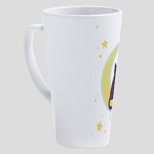 Moon Cats 17 oz Latte Mug