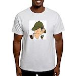 Sherlock Holmes - Ash Grey T-Shirt