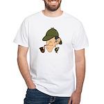 Sherlock Holmes - White T-Shirt