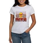 BONEHEAD W TALL FLAMES Women's T-Shirt