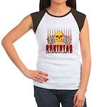 BONEHEAD W TALL FLAMES Women's Cap Sleeve T-Shirt