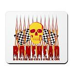 BONEHEAD W TALL FLAMES Mousepad
