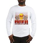 BONEHEAD W TALL FLAMES Long Sleeve T-Shirt