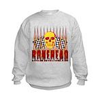 BONEHEAD W TALL FLAMES Kids Sweatshirt
