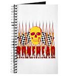 BONEHEAD W TALL FLAMES Journal