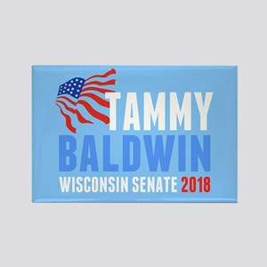 Tammy Baldwin 2018 Rectangle Magnet