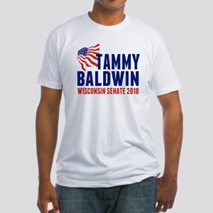 Tammy Baldwin 2018 Fitted T-Shirt