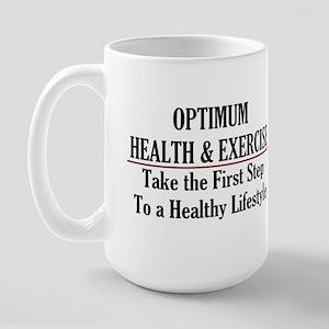 Optimum Health Large Mug