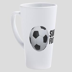 Sweden Football 17 oz Latte Mug