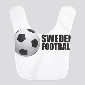 Sweden Football Polyester Baby Bib